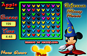 Juego Bejeweled Mickey Mouse