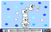 Colorear Snowgies Frozen Fever