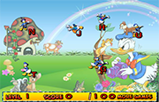 Juego Donald Duck Typing