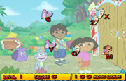 Juego Dora The Explorer Typing
