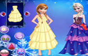 Frozen Girl Dress Up