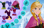 Frozen Anna Frosty Makeover