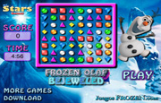 Diamantes Frozen Olaf