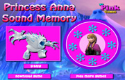 Princess Anna Sound Memory