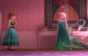 Puzzle Hermanas Frozen Fever