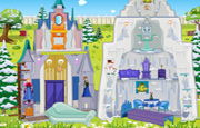 Frozen Ice Castle Doll House