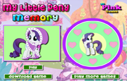 Juego My Little Pony Memory