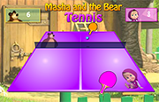 Juego Masha and the Bear Tennis