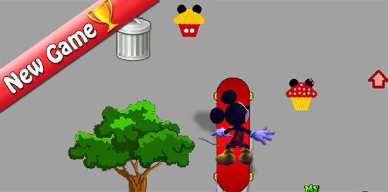 Juego Mickey Mouse Skate