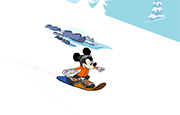 Juego Mickey Mouse Snowboard