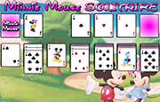 Juego Minnie Mouse Solitaire