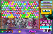 Juego Monster High Bubble Hit