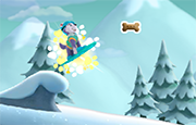 Juego Paw Snow Slide