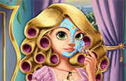 Juego Rapunzel Maquillaje Real