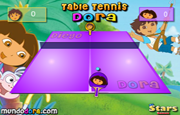Juego Table Tennis Dora